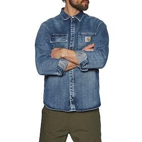 Carhartt Salinac Jac Shirt - Blue Mid Worn Wash