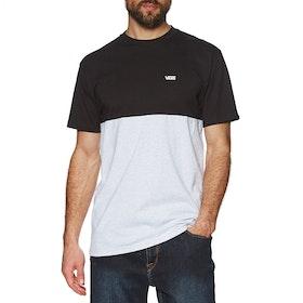 T-Shirt à Manche Courte Vans Colour Block - Ash Heather Black