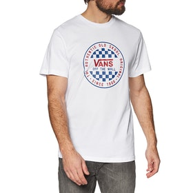 Vans Og Checker Short Sleeve T-Shirt - White