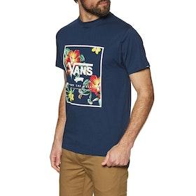 T-Shirt à Manche Courte Vans Print Box - Dress Blues Trap Floral