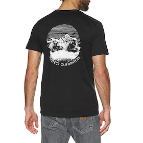 Protect Our Winters Organic Short Sleeve T-Shirt - Black