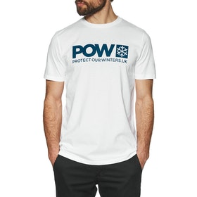 T-Shirt à Manche Courte Protect Our Winters Organic - White