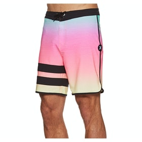 "Hurley Phantom Block Party Keep Cool 18"" Boardshorts - Digital Pink"