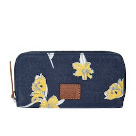 Animal Galataya Womens Wallet - India Ink Blue