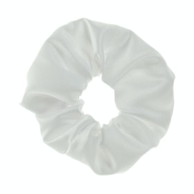 Showquest Plain Scrunchie - White