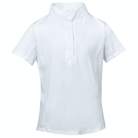Dublin Ria Short Sleeve Kids Competition Shirt - White