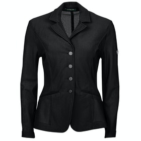 Dublin Hanna II Mesh Tailored Kids Competition Jackets - Black
