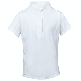 Dublin Ria Short Sleeve Ladies Competition Shirt - White