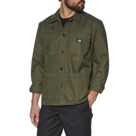 Dickies Caprock Shirt - Dark Olive