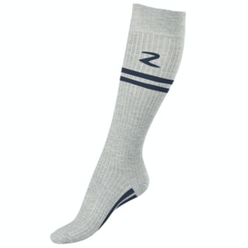Horze Superstretch Stripe Rijsokken - Grey Dark Blue