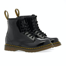 Dr Martens Toddler Brooklee Kinder Stiefel - Black Patent