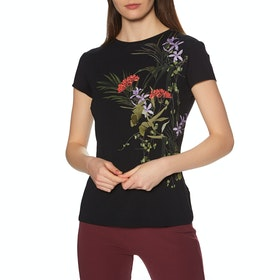 Ted Baker Syrenti Dames Top - Black