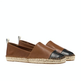 Espadrillas Donna Lauren Ralph Lauren Dorian - Deep Saddle Tan/black