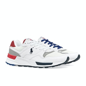 Buty Polo Ralph Lauren Trackster Pony - White Red