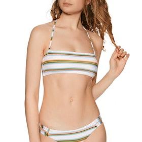 Haut de maillot de bain Femme RVCA Isle Bandeau - Creme