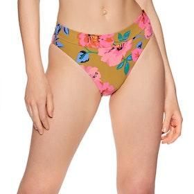 Billabong Beach Bazaar Maui Womens Bikini Bottoms - Moss Landing