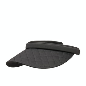 Visor Femme Seafolly Shady Lady Quilted - Black
