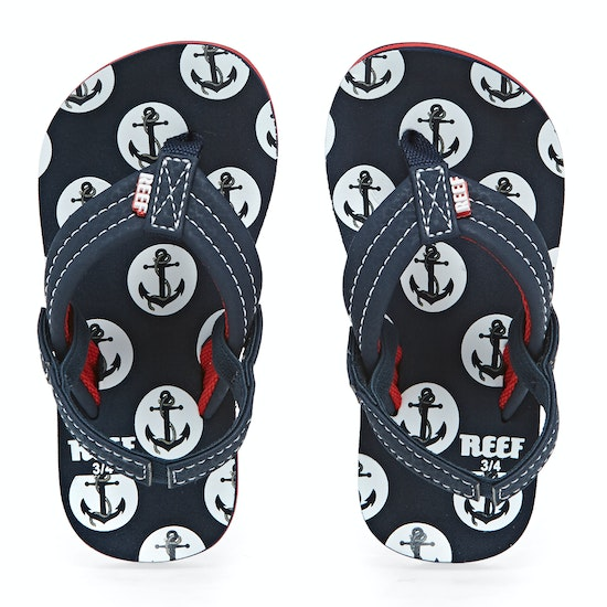 Reef Little Ahi Convertible Kids Flip Flops