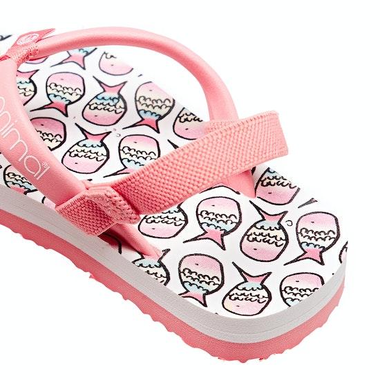 Animal Doodle Girls Sandals