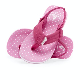 Reef Ahi Kids Sandals - Polka Dot