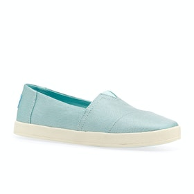 Scarpe Slip On Donna Toms Avalon - Blue