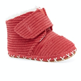 Chaussons Toms Cuna - Tiny Red Corduroy