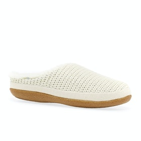 Toms Ivy Womens Slippers - Natural Sweater Knit