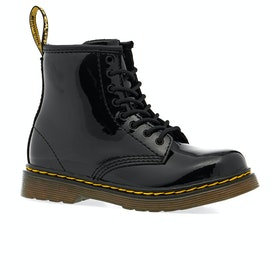 Dr Martens Toddler Brooklee Kids Boots - Black Patent