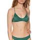 RVCA Solid Cross Back Womens Bikini Top