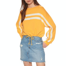 RVCA Aced Fleece Womens Sweater - Amber