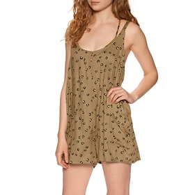 RVCA Miss Me Playsuit - Almond