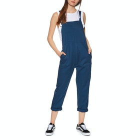 RVCA Kane Dungarees Womens Dungarees - Federal Blue