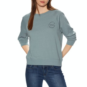 RVCA Va Circle Pullover Womens Sweater - Lead