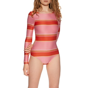 Billabong Tanlines Bodysuit Womens Swimsuit - Samba