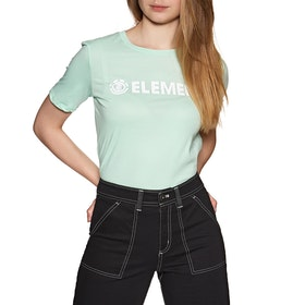 Element Logo CR Womens Short Sleeve T-Shirt - Brook Green