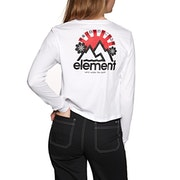 Element Rising Crop Womens Long Sleeve T-Shirt