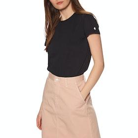 Carhartt Base Short Sleeve T-Shirt - Black / White