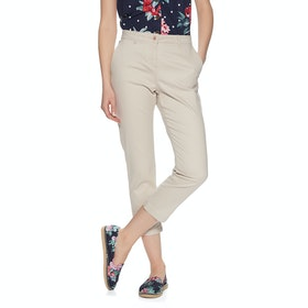 Joules Hesfordcrop Womens Chino Pant - Ivory