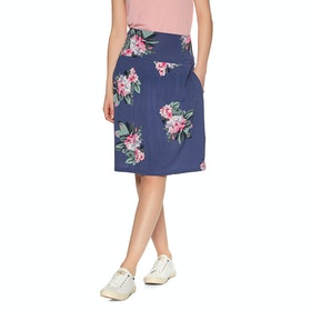 Joules Tayla Print Skirt - Floral Blue