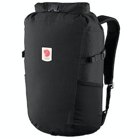 Fjallraven Ulvö Rolltop 23 Backpack - Black