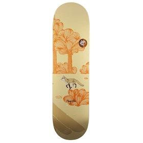 Magenta Glen Fox Leap 8.5 inch Skateboard Deck - Multi