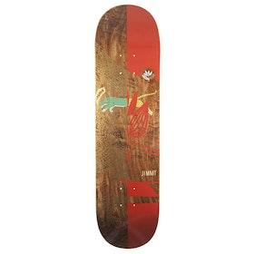 Magenta Jimmy Lannon Leap 8.25 inch Skateboard Deck - Multi