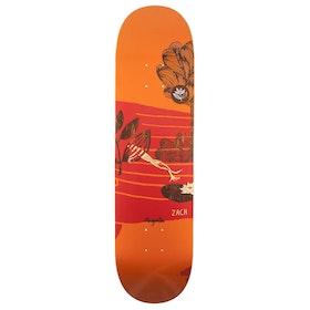 Magenta Zach Lyons Leap 8.5 inch Skateboard Deck - Multi