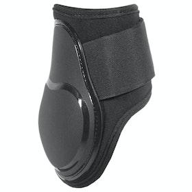 KM Elite Air Shock Fetlock Boots - Black