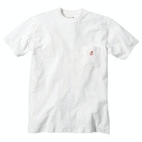 Gramicci One Point Men's Short Sleeve T-Shirt - White