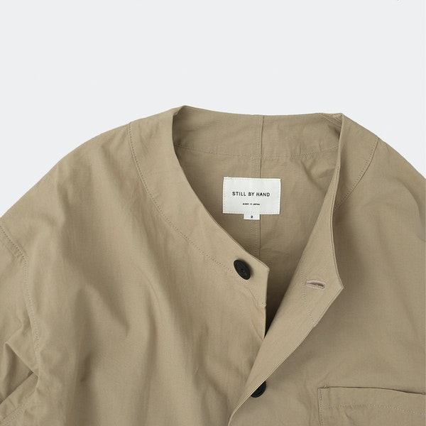 Still By Hand Relaxed Work Jacket