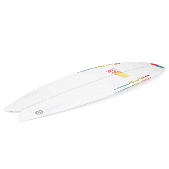 Channel Islands FishBeard Futures Twin Fin Surfboard