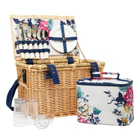 Joules Picnic Basket Lunch Bag - Camfloral