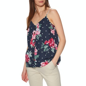 Joules Carper Print Women's Top - Navy Spot Floral