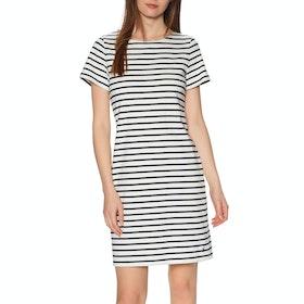 Joules Riviera Dress - Cream Navy Stripe